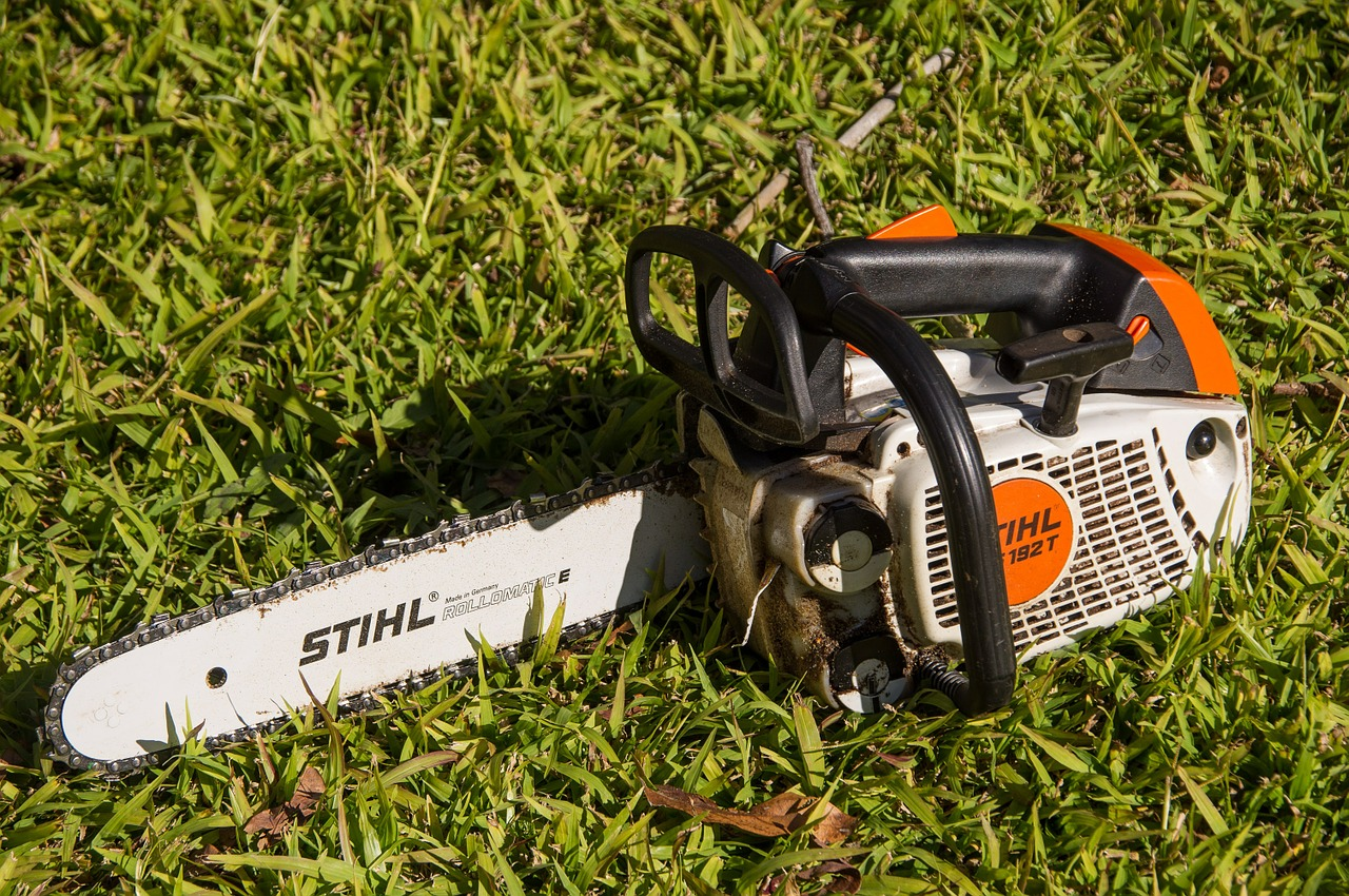 chainsaw, saw, tool